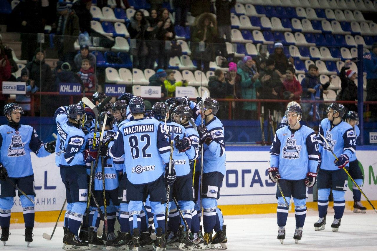 За тур до конца регулярки Сибирские Снайперы обеспечили выход в плей-офф